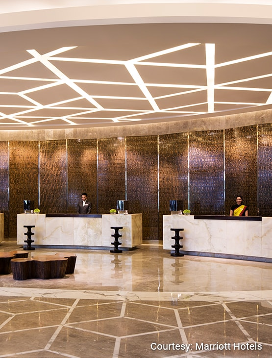 JW Marriott Hotel New Delhi Aerocity_Lobby