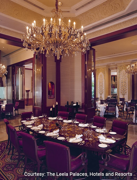 The Leela Palace Bengaluru_dining