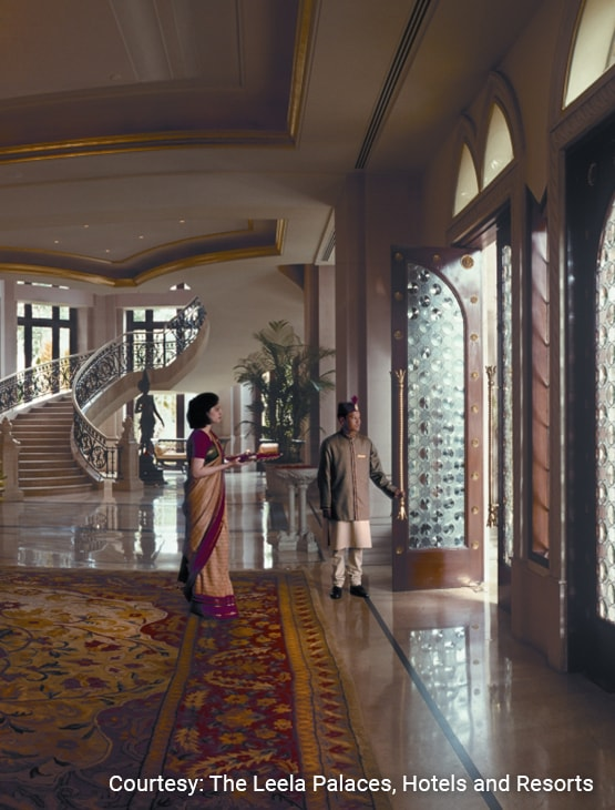 The Leela Palace Bengaluru_Lobby