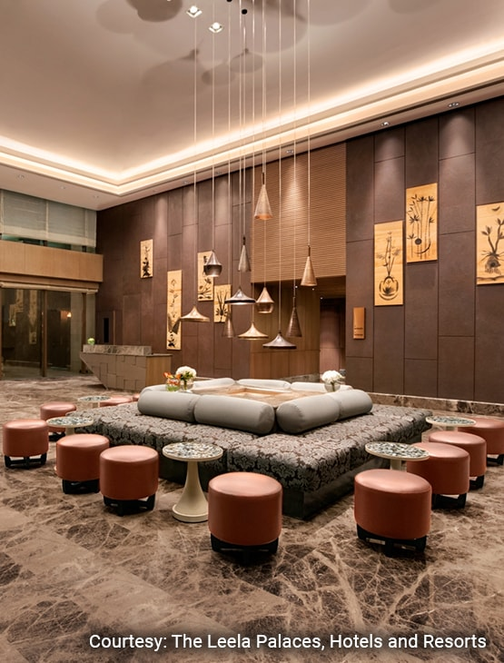 The Leela Ambience Convention Hotel_Looby