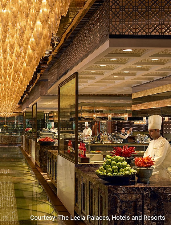 The Leela Ambience Gurugram Hotel & Residences_Dining