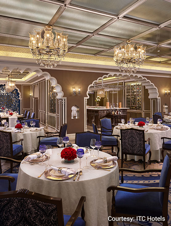 ITC Maurya, Dum Pukht Restaurants In New Delhi-dining1