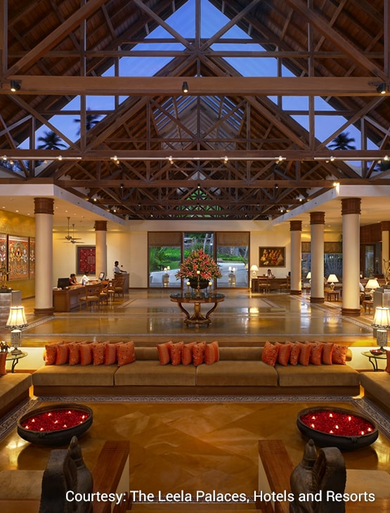 The Leela Kovalam_Lobby