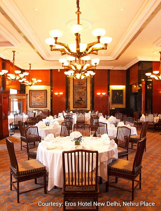 The Eros Hotel_dining