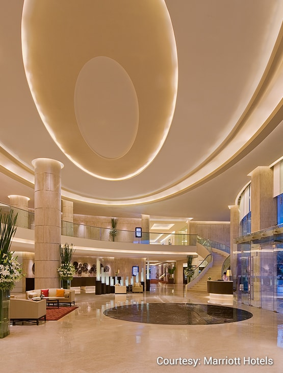 Courtyard by Marriott Mumbai International Airport_Lobby