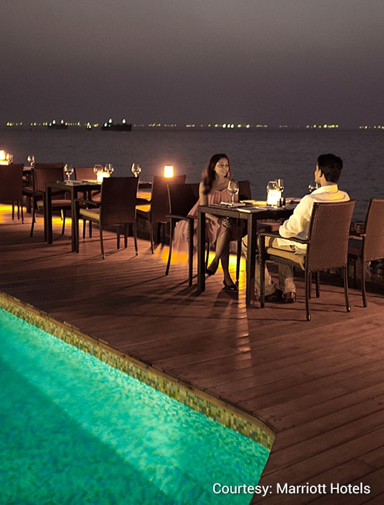 Goa Marriott Resort & Spa_dining