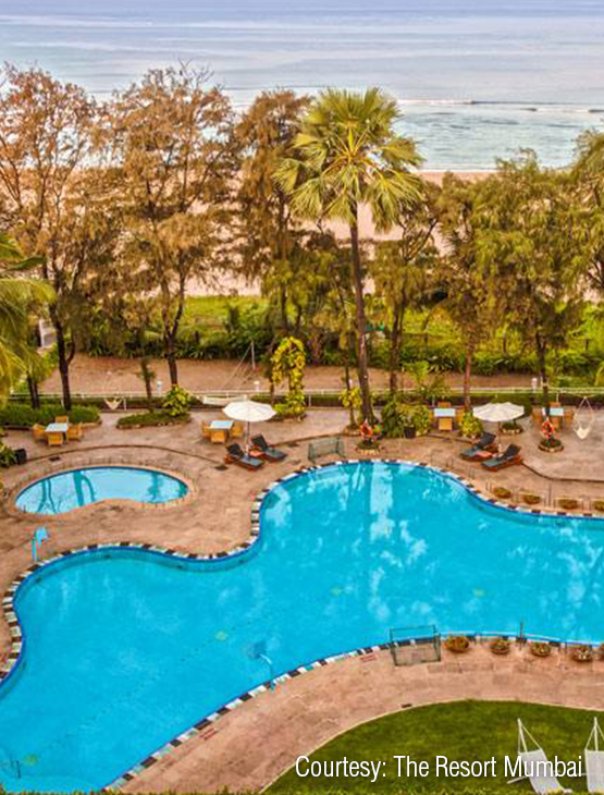 The Resort Madh-Marve_Swimming pool
